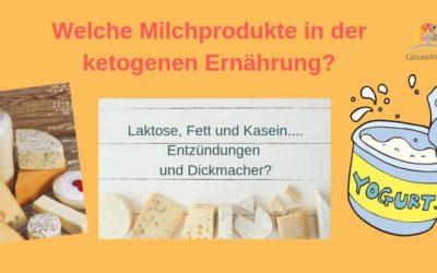 Welche Milchprodukte in der ketogenen Ernährung