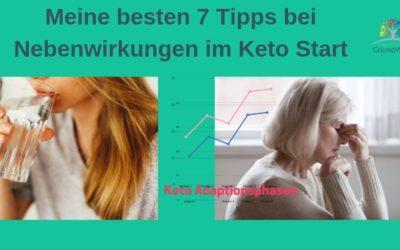 Meine 7 besten Tipps bei Nebenwirkungen zum Start in die Keto