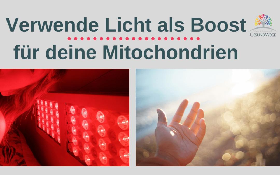 Mitochondrien stärken mit Infrarot Licht