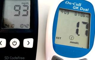 Blut- und Ketone-Messgerät
